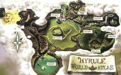 Mapa de Hyrule OoT