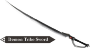 Hyrule Warriors Demon Blade Demon Tribe Sword (Render)