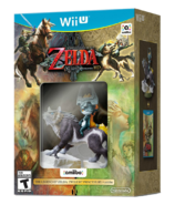 Pack americano con amiibo The Legend of Zelda Twilight Princess HD