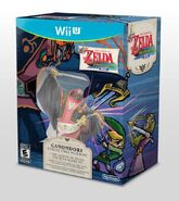 Caja americana de la edición especial The Legend of Zelda The Wind Waker HD