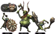 Hyrule Warriors Enemy Units Bulblin (Render)