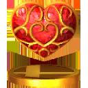Réceptacle de Coeur Trophée SSB4 3DS