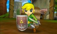 Hyrule Warriors Legends Toon Link Hero of Winds, Toon Link (Battle Intro)