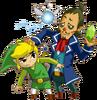 Link et Linebeck