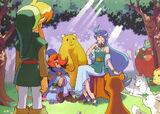 Link et Nayru