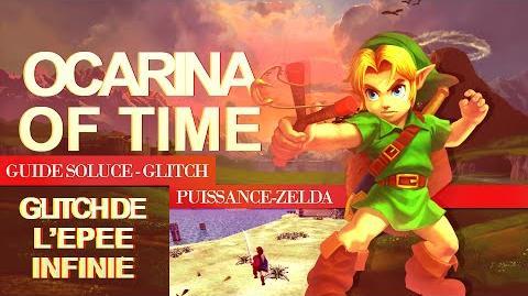 Ocarina of Time - Glitch - Infinite Sword Glitch