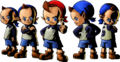 Sociedad Secreta de la Justicia Bomber artwork MM 3D