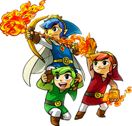 Tri Force Heroes artwork 2