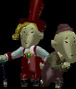 Père de Maggy figurine