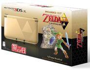 Caja americana de Nintendo 3DS XL especial