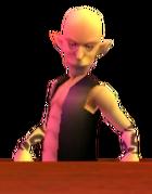 Hombre de la Tienda de Bombas OoT 3D