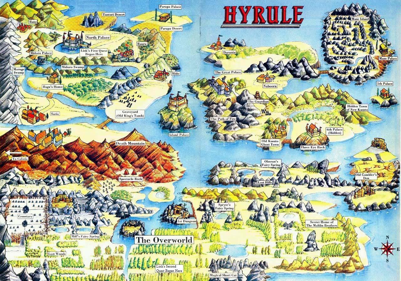 Image - Hyrule (The Legend of Zelda comics).png | Zeldapedia ...