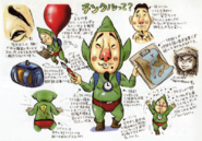 Majora's Mask Artwork Tingle (Concept Art)