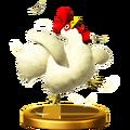 Trofeo Cuco Objeto SSBWiiU