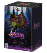 Caja de la edición especial The Legend of Zelda Majora's Mask 3D