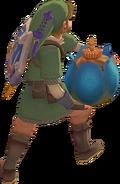 Link lanceur de bombe