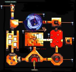 Gerudo-Arena-Karte (Ocarina of Time)