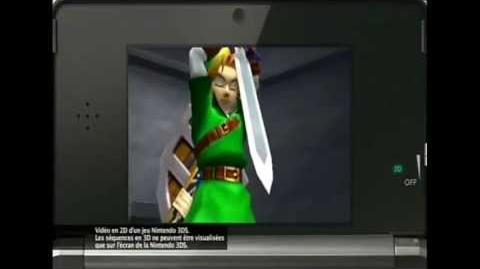 Pub française nº 3 pour Ocarina of Time 3D (3DS)