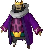 Roi d'Hyrule costume Lorule HWL