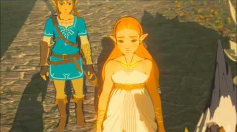 The Legend of Zelda Breath of the Wild - Die Verheerung erwacht Erinnerung Cutscene (Nr