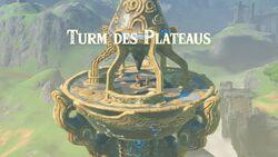 Turm des Plateaus