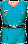Blaue Rüstung Artwork