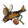 File:Breath of the Wild Food Dish (Skewers) Fish and Mushroom Skewer (Icon).png