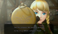 Hyrule Warriors Legends Linkle's Tale Linkle's MAGIC Compass (Cutscene)