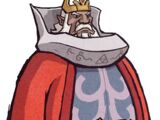 König Daphnos Johanson von Hyrule