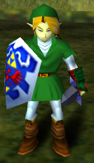 Link epic face
