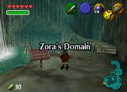 Llegada a los Dominios Zora OoT