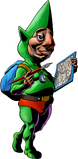 Tingle artwork MM3D