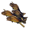 File:Breath of the Wild Food Dish (Skewers) Copious Fish Skewers (Icon).png