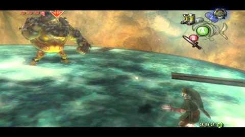 Dangoross Sous-Boss de la Mine Goron (Zelda Twilight Princess) HQ