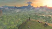 Great Plateau Screenshot 1 - The Legend of Zelda Breath of the Wild