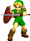 Link enfant (Super Smash Bros. Melee)