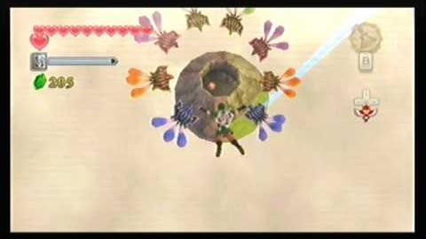 LoZ Skyward Sword - Flying squirrels?
