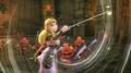 Zelda con la batuta de los vientos HW 5