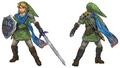 Hyrule Warriors Artwork Link (Concept Art)