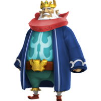 Hyrule Warriors Legends King Daphnes Nohansen Hyrule Standard Outfit (Grand Travel - Linebeck Recolor)