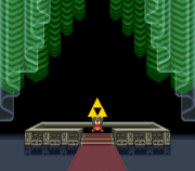 Link Obtains the Triforce