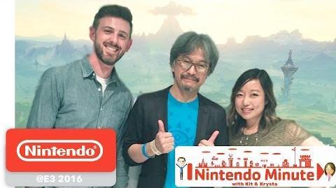 The Legend of Zelda Breath of the Wild - Gameplay avec Eiji Aonuma