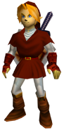 Link adulto OoT (túnica Goron)