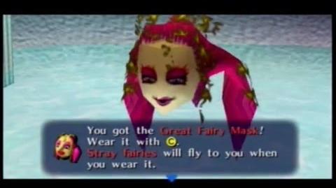 Majora´s Mask - Máscara de la Gran Hada