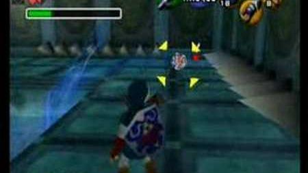 Morpha Boss du temple de l'Eau (Zelda OOT)