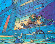 Oncle de Link château