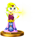 Super Smash Bros. for Wii U Princess Zelda (The Wind Waker) Toon Zelda (Trophy)