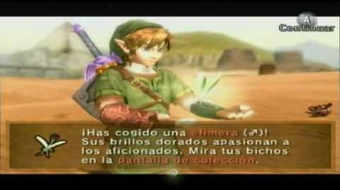 The legend of Zelda twilight princess Bichos dorados golden bugs parte 2 (Español)