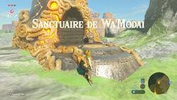 Sanctuaire de Wa'Modai 2 BOTW