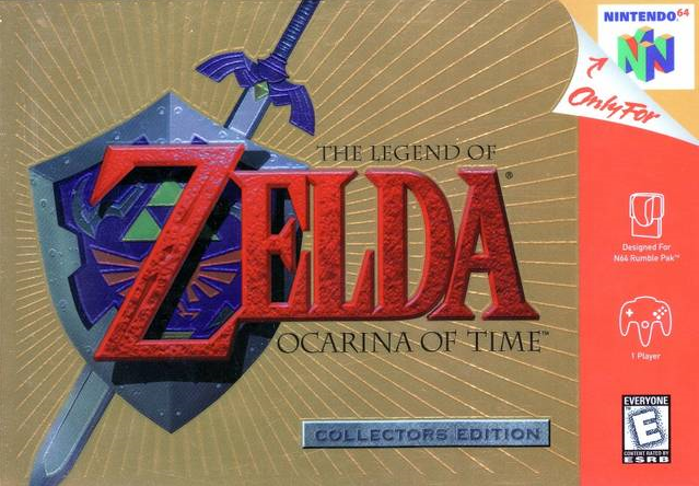 Файл:The Legend of Zelda - Ocarina of Time (Collector's Edition).png